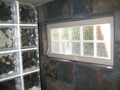 Small Bathroom Windows close up of the glass block window | bg bathroom ideas | pinterest