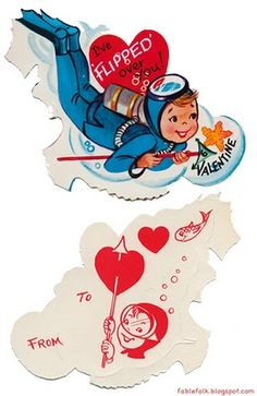 Vintage Valentines from the 70's.