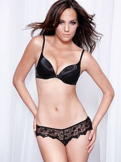 3e85c1755bd59 I love this Embroidered Lace-Up Thong from Frederick s of Hollywood!