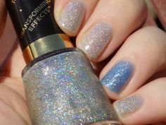 Revlon Holographic Pearls and Sinful Colors Hottie Swatches