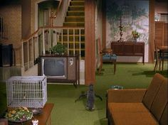 i dream of jeannie set design - Pesquisa Google | not the Jeannie set...this is Bewitched