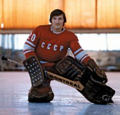 It was 40 years ago Monday that Canada awoke to the grim, gut-punched truth that this hadn't, in fact, been just a bad dream. Our country's best hockey players were destroyed by a rag-tag squad of amateurs from the Soviet Union the previous night. Army Hockey, Hockey Goalie, Hockey Games, Bruins Hockey, Baseball, Montreal Canadiens, History Of Olympics, Hockey Boards, Hockey Room