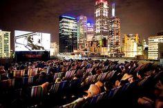 Melbourne, Australia (Rooftop Cinema):