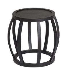 CRABO SIDE TABLE | FRENCH OAK BLACK PriceAU$699.00