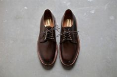 A good pair of leather shoes.