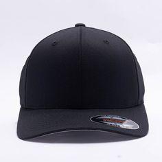 Flexfit/Yupoong 6277 Flexfit Wooly Combed Hat Wholesale [Black]