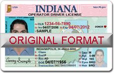 Fake License Id Cards Scannable scanna… With Indiana Usa Id buy Indiana Ids Drivers Holograms … Fakeids Id