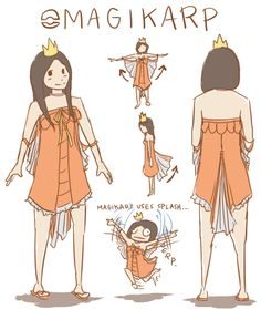 Magikarp girl by antichange on DeviantArt