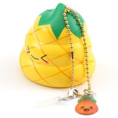 scented yellow Crazy Poo pineapple squishy by Puni Maru