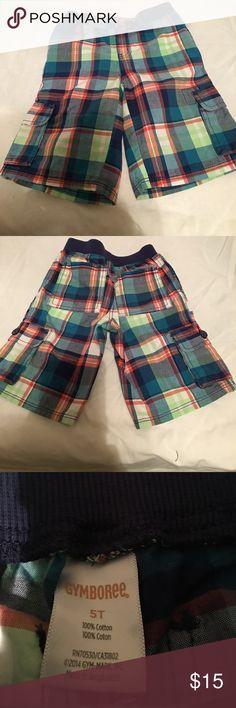 Boy's Plaid Shorts Boy's Plaid Shorts Gymboree Bottoms Shorts
