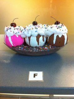 Pumpkin Decorating Contest Winners | My pick for 1st place, Steve's Ice Cream Sundae.