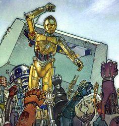 Droid rebellion! Star Wars Comics, Fighter Pilot, Recent Events, Geek Art, Art Forms, Pop Culture, Digital Art, Nerd, Geek Stuff