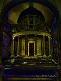 The mysterious nature of Bramante's elegant chapel is brought out in this brooding artistic interpretation by Scott Lund. The Tempietto is protected by the Royal Academy of Spain in Rome, or Real Academia de Espana en Roma. #MonaLisaCode #ScottLund #LeonardoDaVinci #TheMonaLisa #MonaLisa #History #ArtHistory #Stars #Astronomy #Entertainment #Bramante #Tempietto #Rome Scott Lund © 2010 | All Rights Reserved | Mona Lisa Code (SM)