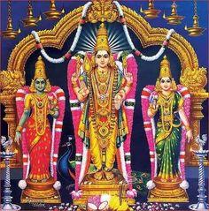 Sri Murugan Devsena and Valli Hindu Deities, Hinduism, Lord Murugan Wallpapers, Kali Hindu, Ganesh Photo, Lord Shiva Hd Images, Ganesh Idol, Lord Ganesha Paintings, Indian Goddess