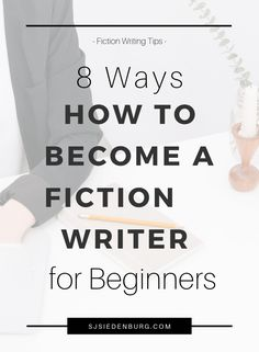 Want to be a fiction writer? Here are 8 helpful tips for becoming a fiction writer from my own journey. Get tips on finding good writing resources, connecting with writing influencers, daily writing habits, accepting feedback + criticism, and more. Creative Writing Tips, Book Writing Tips, Writing Resources, Writing Help, Writing Skills, Writing Prompts, Writing Quotes, Writer Tips, Writers Notebook