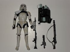 STAR WARS EE EXCLUSIVE BLACK SERIES 6 INCH ACTION FIGURE SANDTROOPER SERGEANT