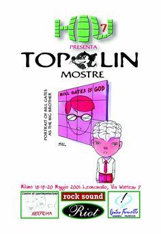 H.I.U 7° edizione Milano 18, 19, 20 Maggio 2001 Leoncavallo Disegno di Miguel Angel Martin