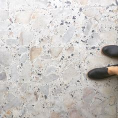 Bit of floor porn at @grandfathersaxe_jarrad yesterday #terrazzo #grandfathersaxe #colourschemeperfection weirdly I used to live in an apartment with similar large marble crazy paving floors once and hated them, now I'm loving this 🤔 Terrazzo Flooring, Stone Flooring, Floor Design, House Design, Kitchen Triangle, Crazy Paving, Brick And Stone, Floor Finishes, Bathroom Inspiration