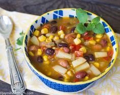 Southwestern green chili stew