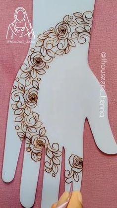Pretty Henna Designs, Mehndi Designs For Kids, Floral Henna Designs, Mehndi Designs Feet, Latest Bridal Mehndi Designs, Mehndi Designs Book, Full Hand Mehndi Designs, Mehndi Designs 2018, Mehndi Design Photos