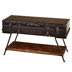 Target Storage Trunk Fair Wicker Large Storage Trunk  Dark Global Brown  Threshold™  Target