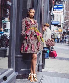 Eye-Popping & Show-Stopping Ankara Styles You've Never Seen Before - Wedding Digest Naija Ankara Dress Styles, African Print Dresses, African Fashion Dresses, African Dress, African Prints, African Clothes, African Patterns, African Outfits, African Inspired Fashion