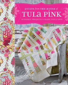 To purchase a signed copy of Tula Pink's City Sampler click on the image above    Photos by  Elazabeth Maxon