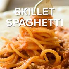 Spaghetti Beef Recipe, Homemade Spaghetti, Homemade Pasta, Spaghetti Sauce, Recipes With Spaghetti Noodles, Baked Spaghetti, Beef Recipe Video, Pasta Recipes Video, Cooking Recipes