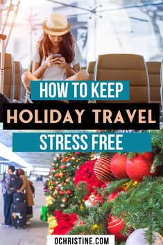 Travel planning can be stressful, but holiday travel is even worse. Here is how I best prevent stress during the process. Best Travel Guides, Travel Advice, Travel Hacks, Travel Ideas, Budget Travel, Thailand Travel, Croatia Travel, Bangkok Thailand, Hawaii Travel