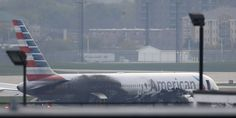 American Airlines Plane Fire At Chicago O'Hare Sent Pieces Flying Half Mile