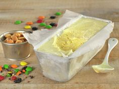 Hjemmelaget is - MatPrat Deserts, Dairy, Ice Cream, Pudding, Favorite Recipes, Cheese, Comfort Foods, Yum Yum, Hot Dogs