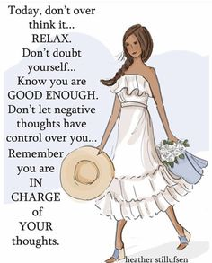 Heather Stillufsen you are in charge of your thoughts Uplifting Quotes, Positive Quotes, Positive Thoughts, Inspirational Quotes, Motivational Quotes, Positive Vibes, Anxiety Thoughts, Staying Positive, Thoughts