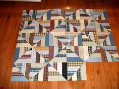 Plaid Quilt, Bonnie Hunter, Shirt Quilts, String Quilts, Baby Quilts, Memory Quilts, Recycled Materials, Quilting Projects, Quilt Patterns