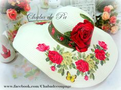 Mix Match Outfits, Painted Hats, Hat Decoration, Tea Party Hats, Spring Hats, Decoupage Furniture, Easter Pictures, Hat Crafts, Cowgirl Hats