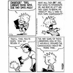Calvin and Hobbes cartoon.