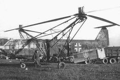 Luftwaffe helicopter