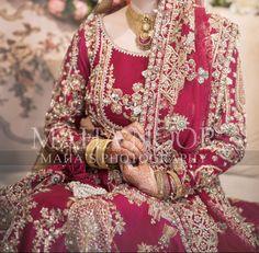 Bridal Suits Punjabi, Pakistani Wedding Dresses, Pakistani Bridal, Bridal Dresses, Nikkah Dress, Wedding Prep, Bridal Fashion, Anarkali, Bridal Style