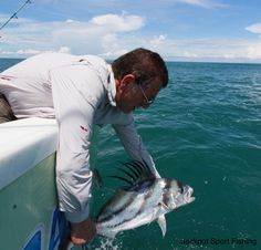 Roosterfish aboard GOOD DAY in Costa Rica!
