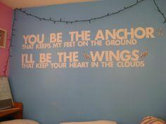 you be the anchor - mayday parade