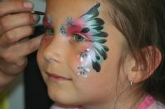 Gorgeous butterfly, using pearl/metallic colors.