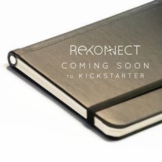 The Rekonect by Rekonect Inc. takes the traditional aesthetic of your regular leather journal and adds a whole new level of flexibility with detachable pages that you can take out and slide back in with unparalleled ease. Thanks to the magic of magnetism, you can slide a page out of the spine without pushing any buttons or opening any tabs like with binders, and then toss it back in for the page to reattach perfectly.