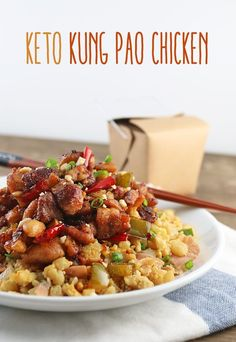 Enjoy this delicious #keto and #lowcarb Kung Pao Chicken recipe. It makes a fantastic replacement for anyone that craves take-out! Shared via http://www.ruled.me/