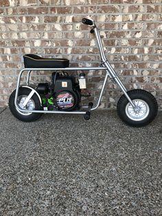Custom Mini Bike, Custom Bikes, Motor Scooters, Fat Bike, Bike Ideas, Welding Projects, Go Kart, Bobber, Mall