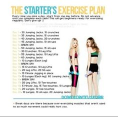 Excercise ideas from instagram
