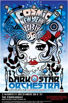 Dark Star Orchestra: Cosmic New Year 2013-2014! (December 30 & 31) Tickets on sale now!