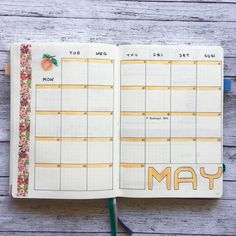 Bullet Journal May Monthly