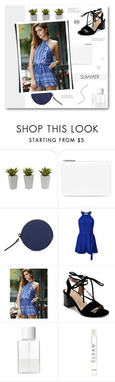 """""""Just Play. Have Fun. Enjoy The Game."""" by paradiselemonade ❤ liked on Polyvore featuring Nearly Natural, Maison Margiela, Troubadour, Miss Selfridge, SUQQU, CLEAN, amusementpark and 60secondstyle"""