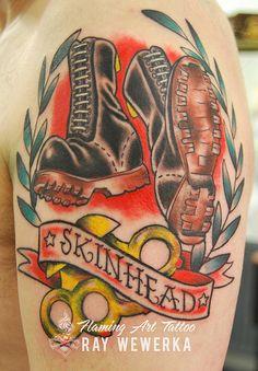 Skinhead Tattoo | Flickr - Photo Sharing!