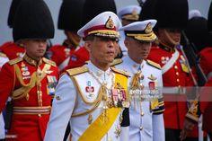 Royal Cremation Of The Princess Galyani Vadhana In Bangkok, Thailand On November 2008 - Thailand's Crown Prince Maha Vajiralongkorn, walks in the procession. King Of Kings, My King, King Rama 10, Captain Hat, Princess, Bangkok Thailand, Walks, November, Crown