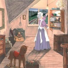 Nana's attic @ Contentment Cottage